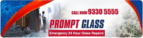 Prompt Glass Header